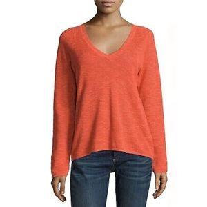 Eileen Fisher    Organic Linen Blend Sweater Large